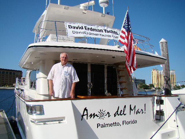 David Erdman at Tampa Boat Show